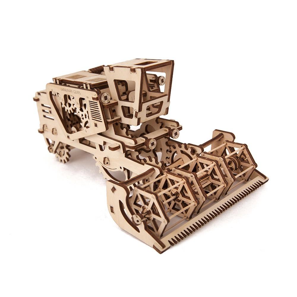 Механічний 3D пазл «Комбайн»