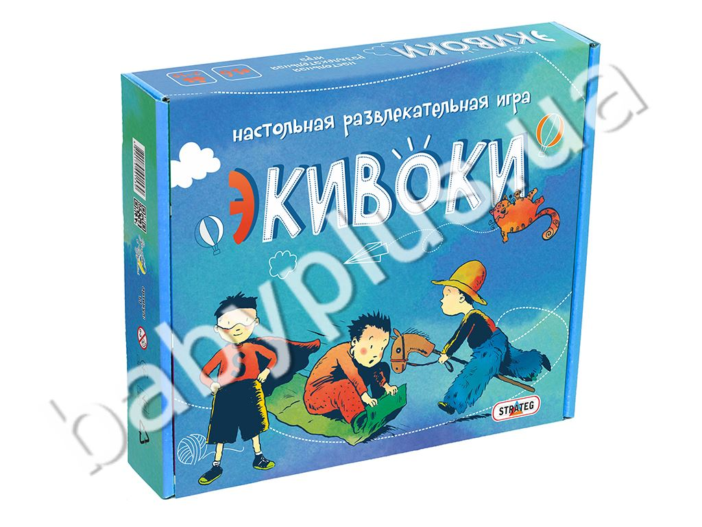Игра Экивоки 224 карточки