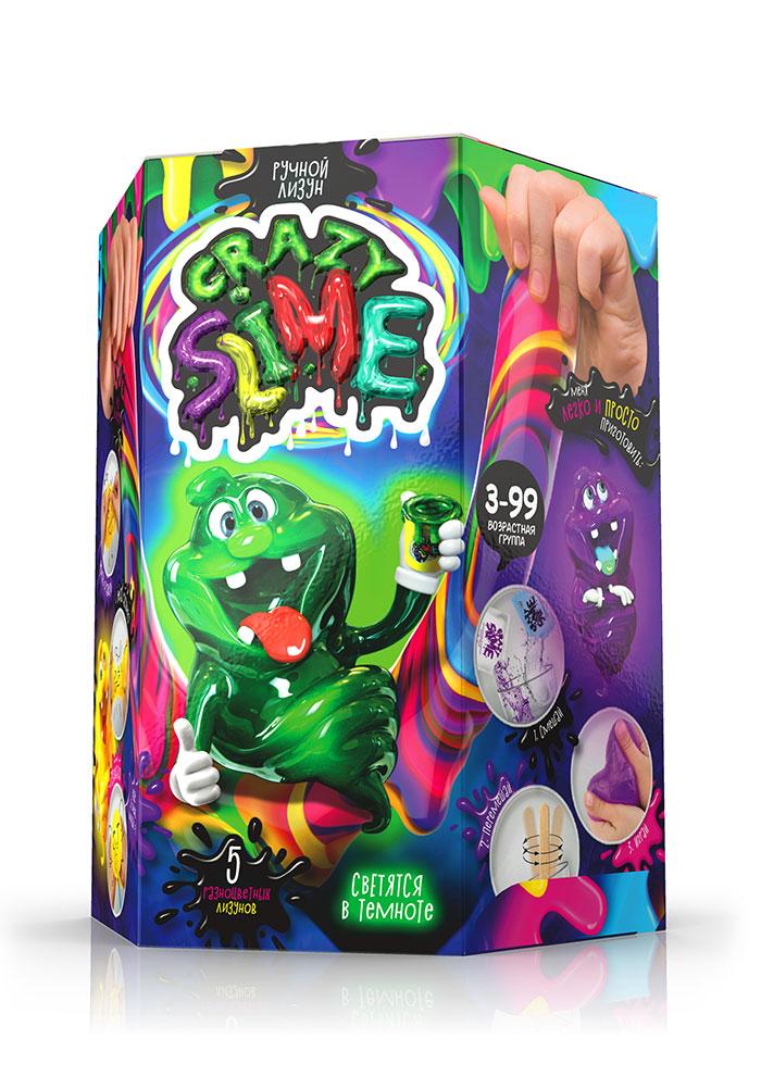 Набор для опытов «Crazy Slime» ручной лизун
